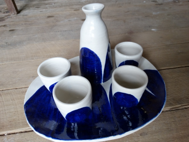 Finished Sake set